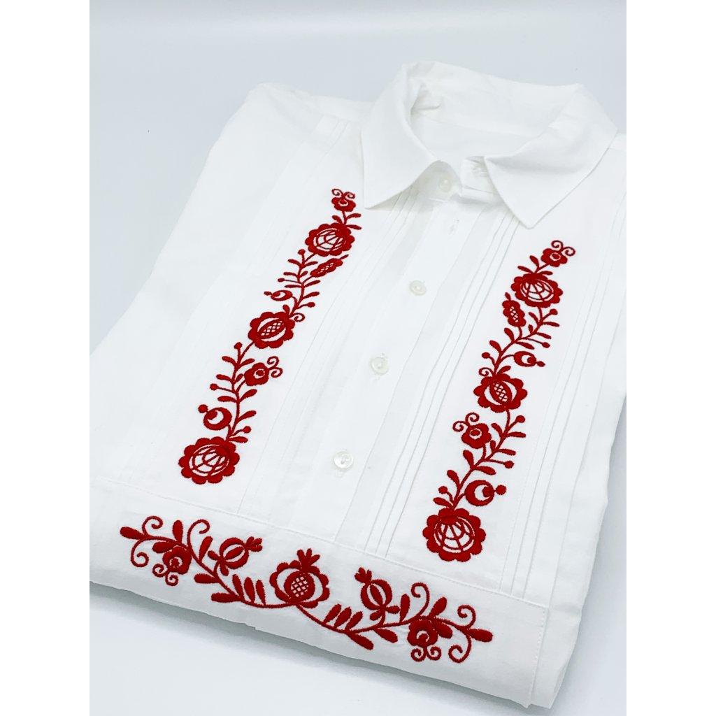 Košile sámkovice vyšívaná