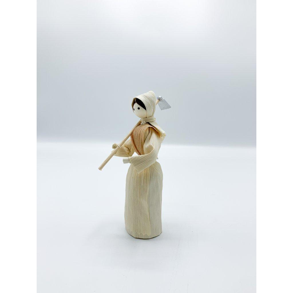 Panenka s hráběmi (var. 1)