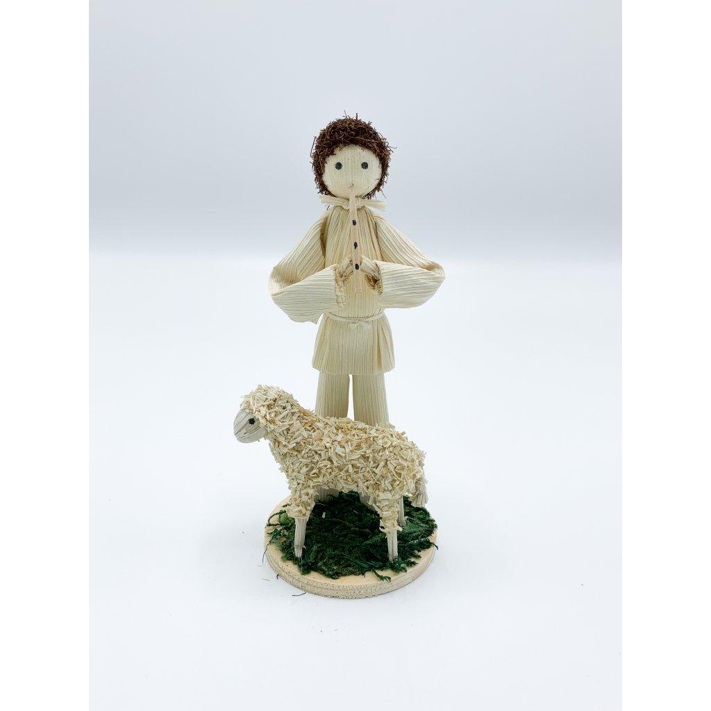 Kluk s ovečkou