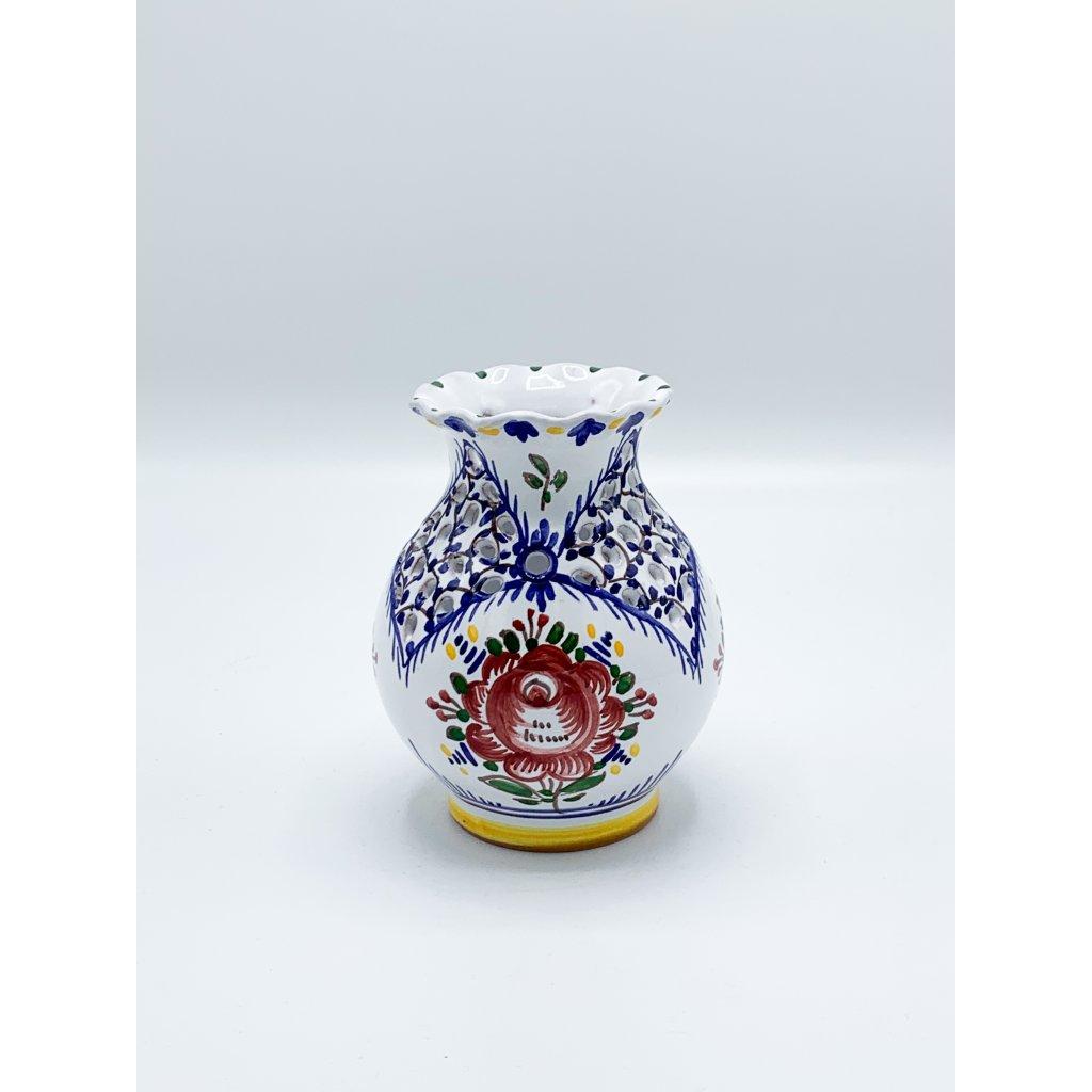 Váza řezaná 13 cm (var.1)