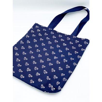 Nákupní taška modrotisk