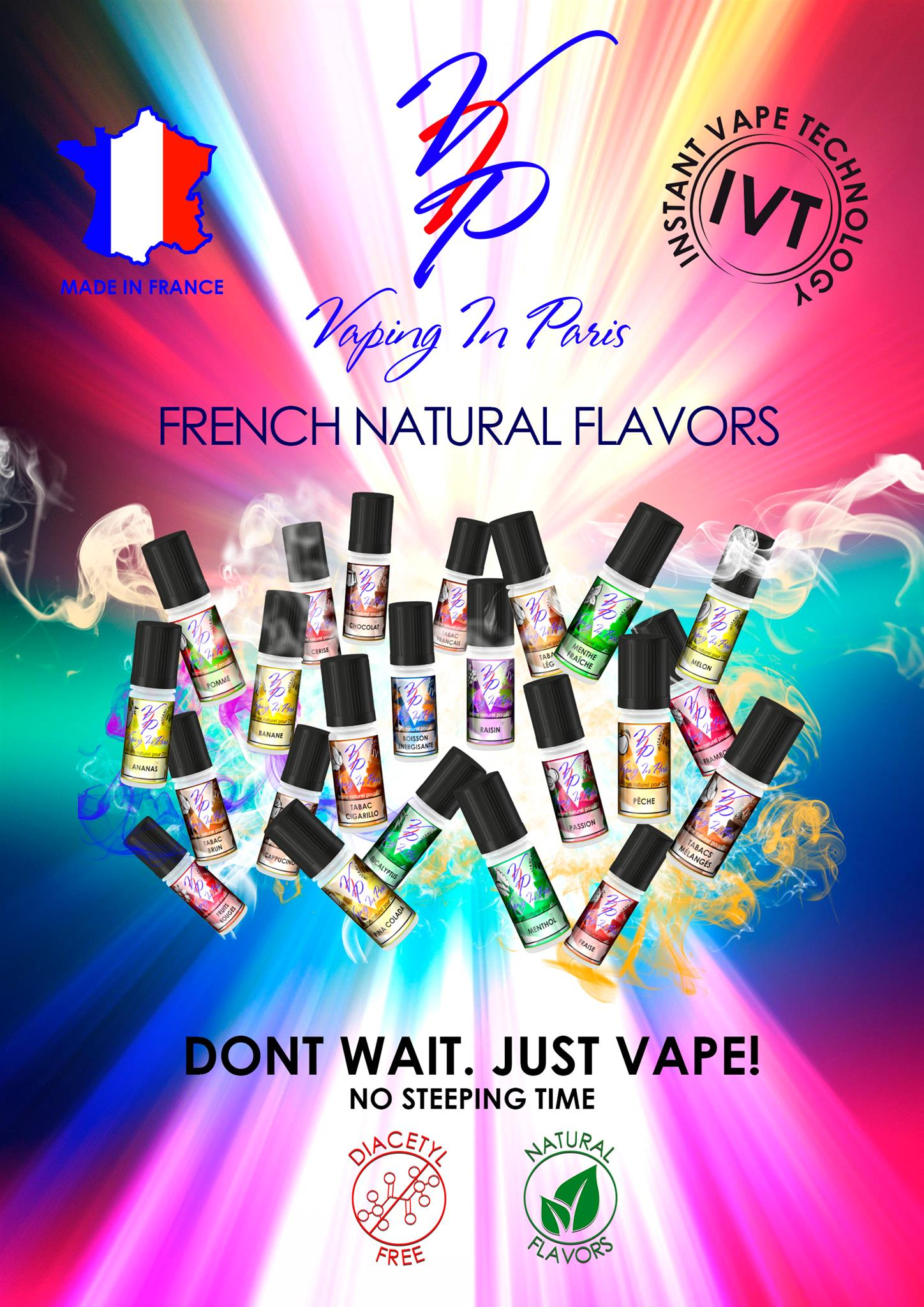 Příchuť VIP (Vaping in Paris) 10ml