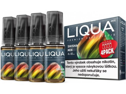 Liqua (New Mix) 4Pack (4x10ml)