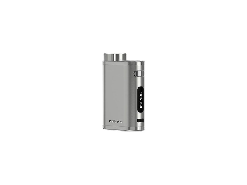 iSmoka-Eleaf iStick Pico TC 75W easy Grip Brushed Silver