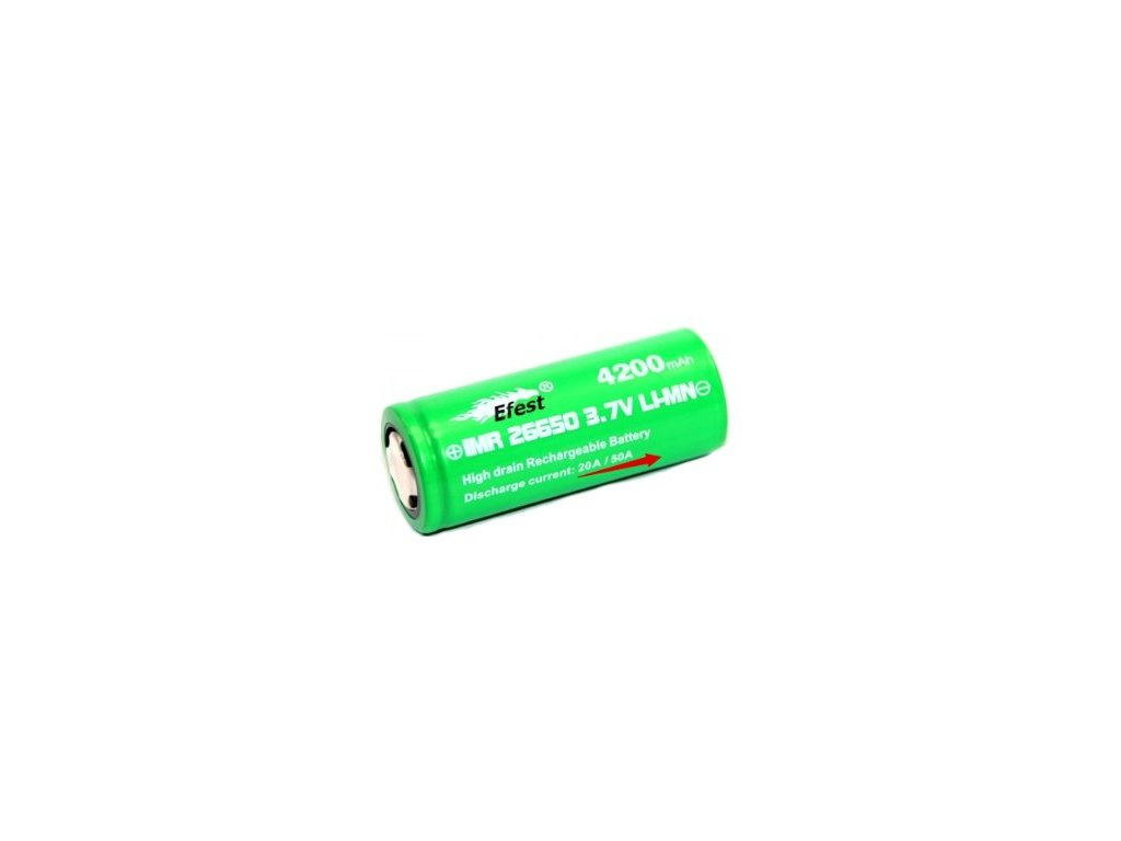 1971 efest baterie typ 26650 4200mah 50a