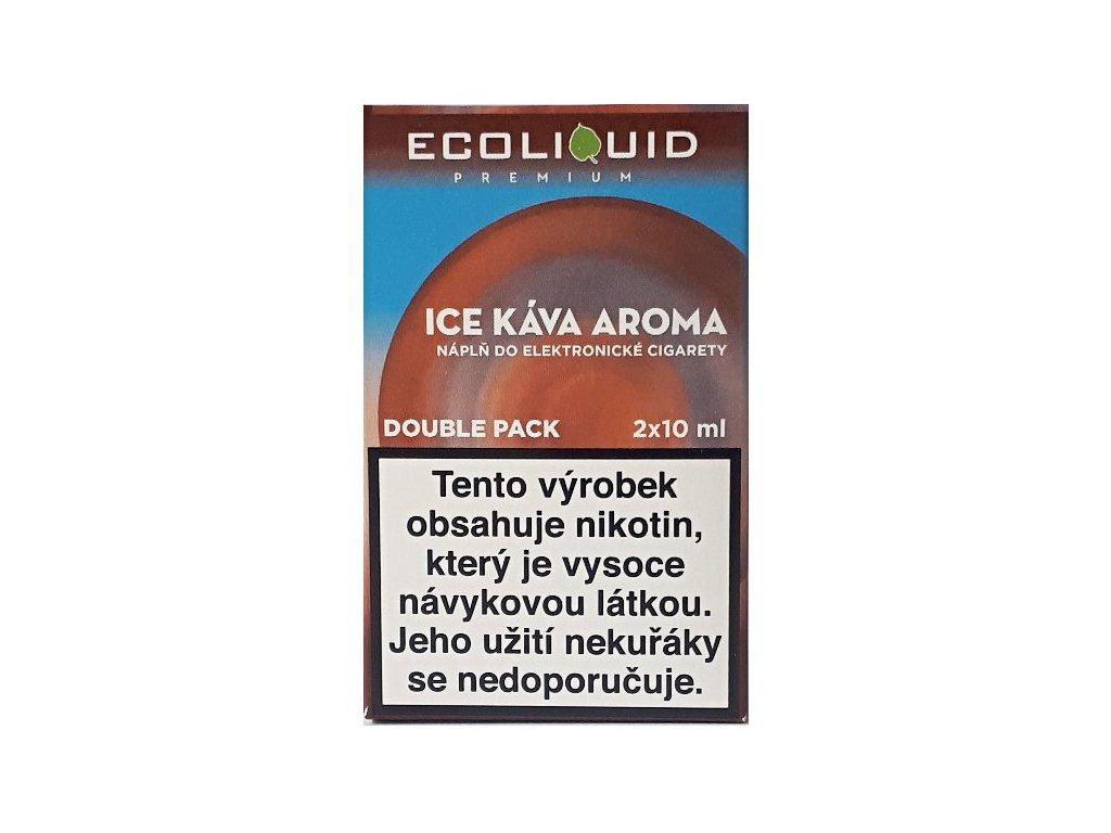 Liquid Ecoliquid Premium 2Pack Ice Coffee 2x10ml