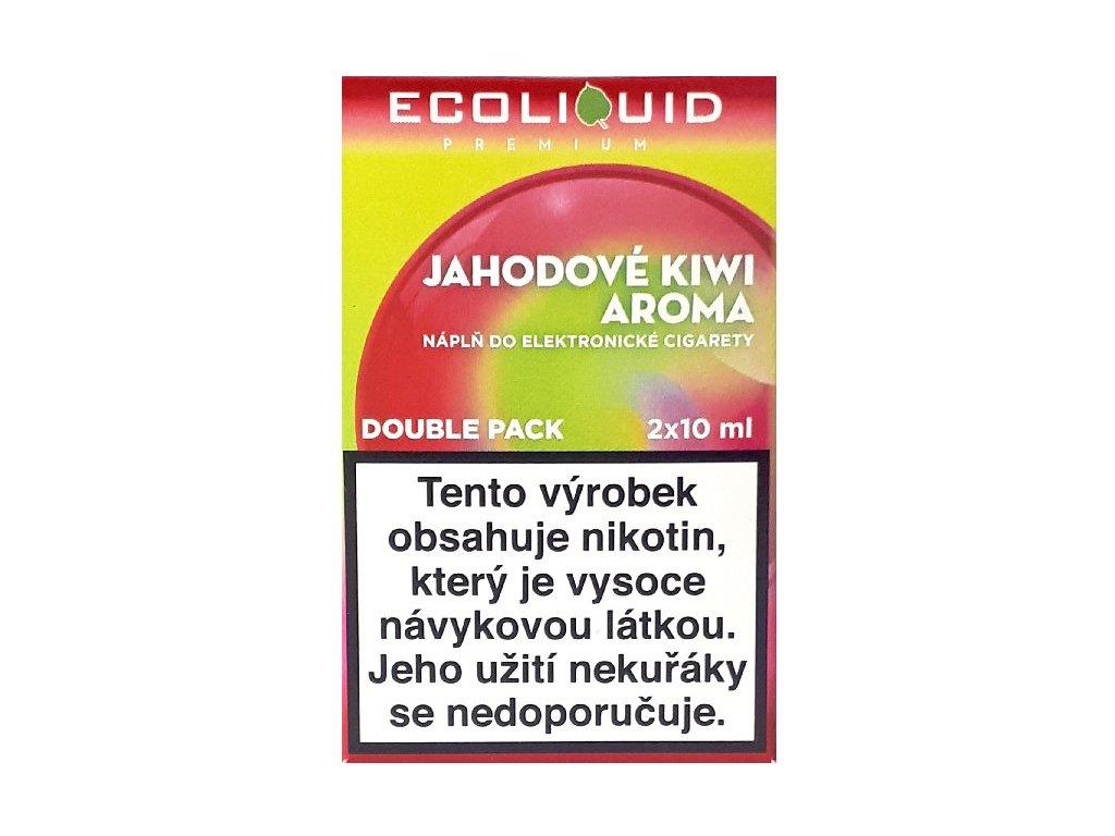Liquid Ecoliquid Premium 2Pack Strawberry Kiwi 2x10ml