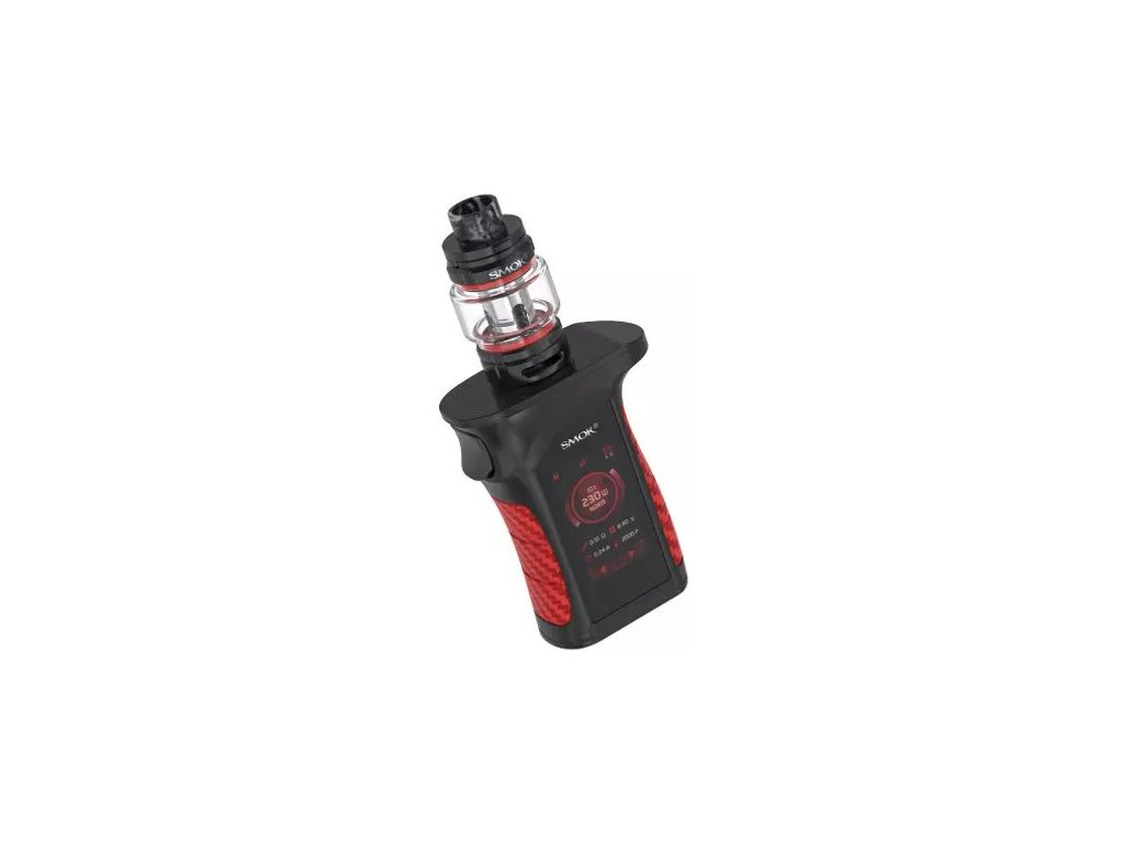 30788 smoktech mag p3 grip tc230w full kit black red