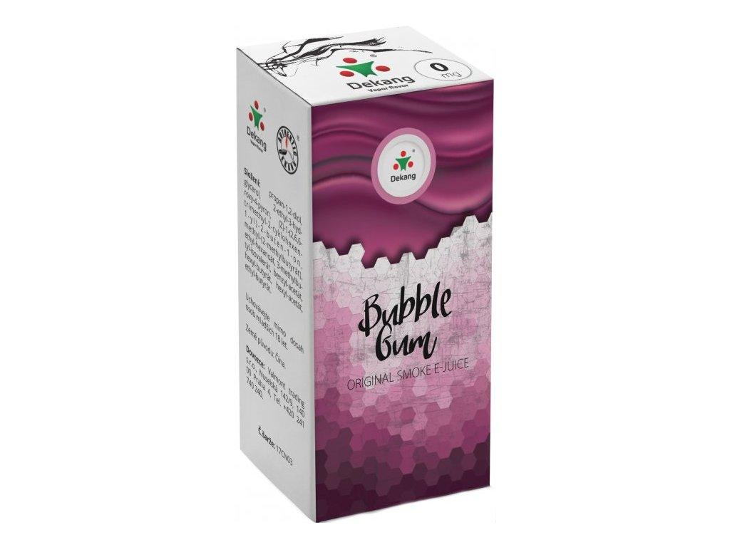liquid dekang menthol bubble gum 10ml 0mg mentolova zvykacka.png