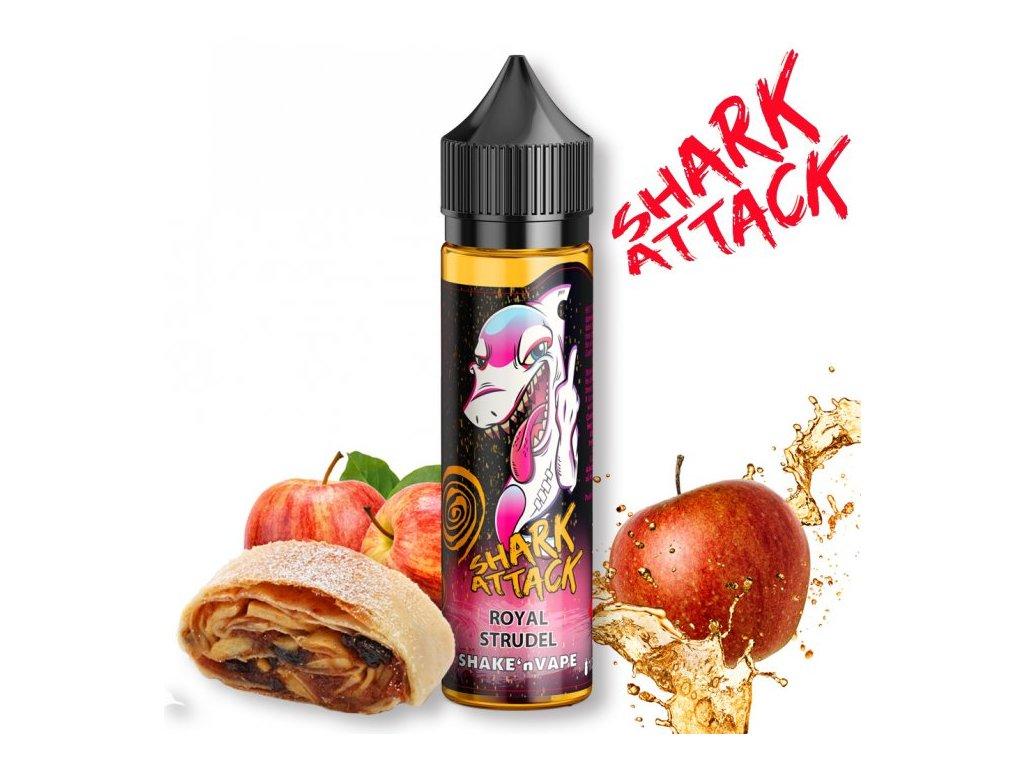 prichut imperia shark attack shake and vape 10ml royal strudel