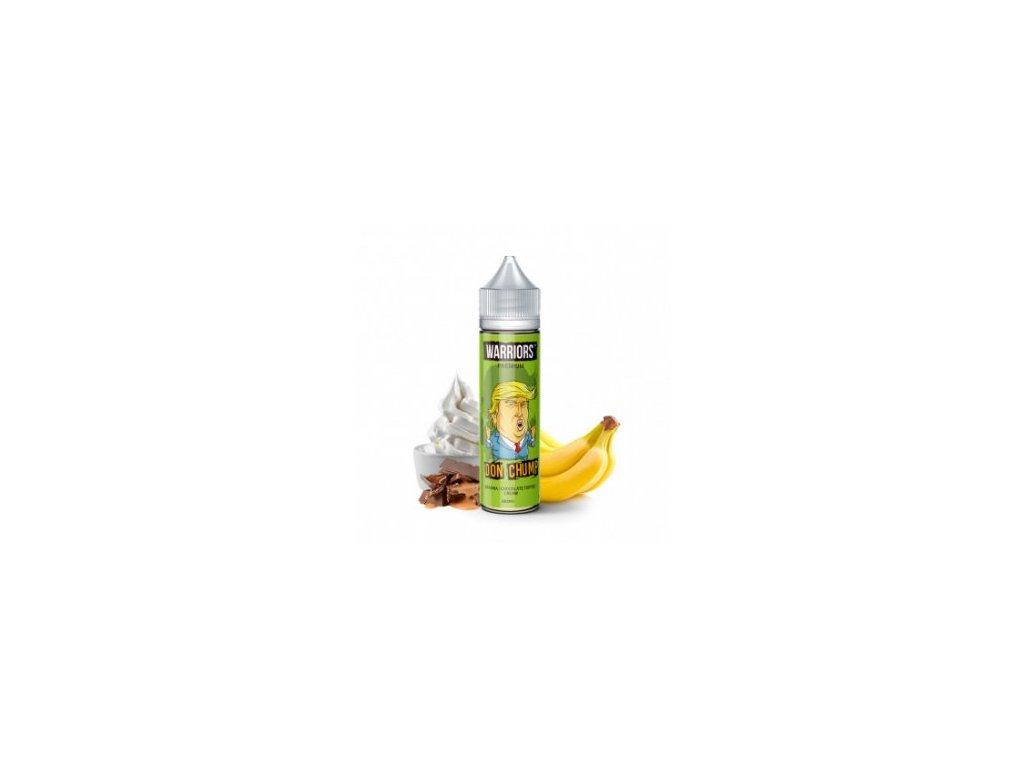 Příchuť Warriors: Don Chump (Banán, čokoládová karamela, smetana) 20ml