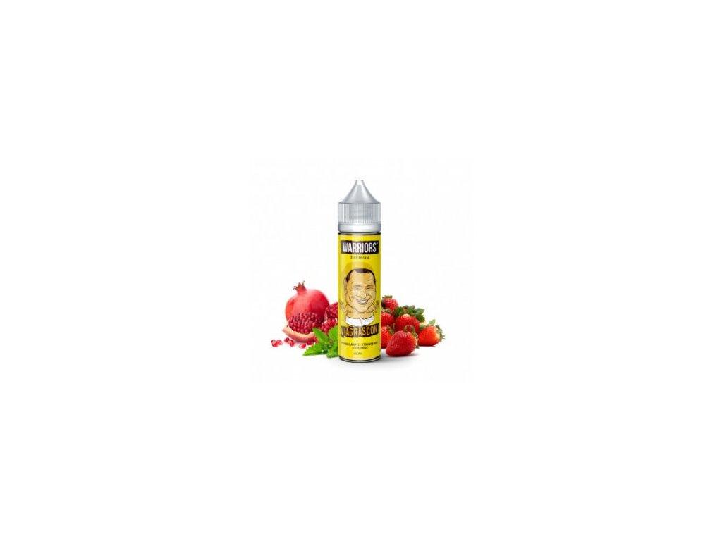 Příchuť Warriors: Viagrasconi (Granátové jablko, jahoda, máta) 20ml