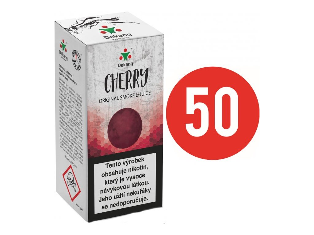 Liquid Dekang Fifty Cherry 10ml (Třešeň)
