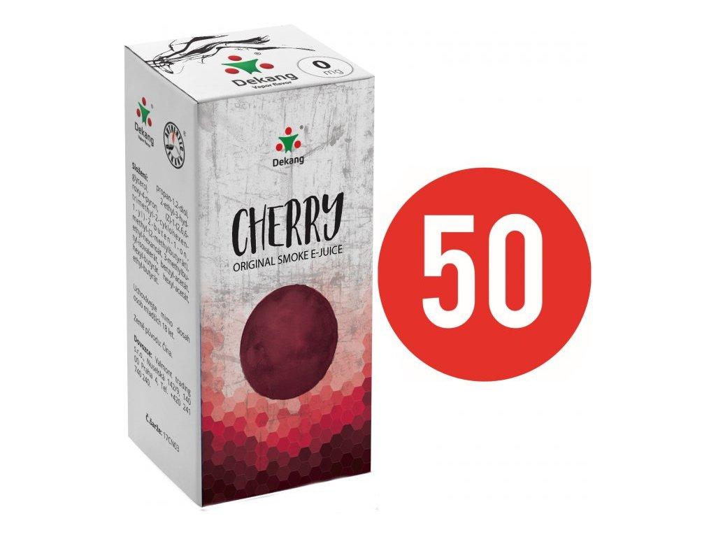 Liquid Dekang Fifty Cherry 10ml (Třešeň)