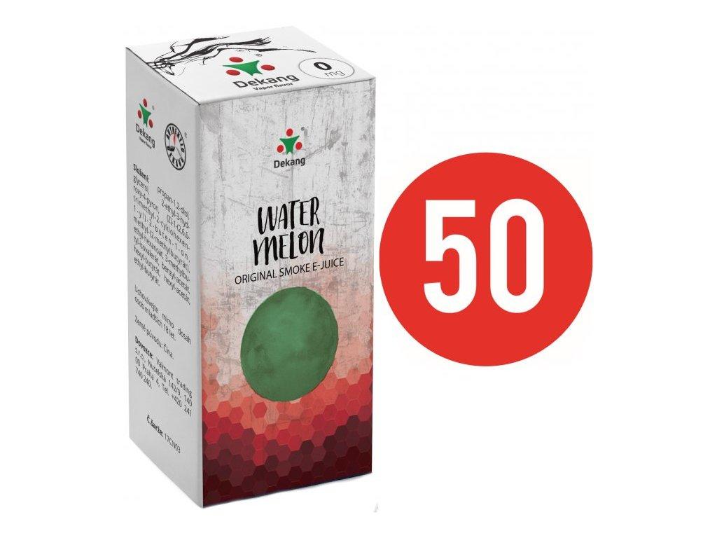 Liquid Dekang Fifty Watermelon 10ml (Vodní meloun)