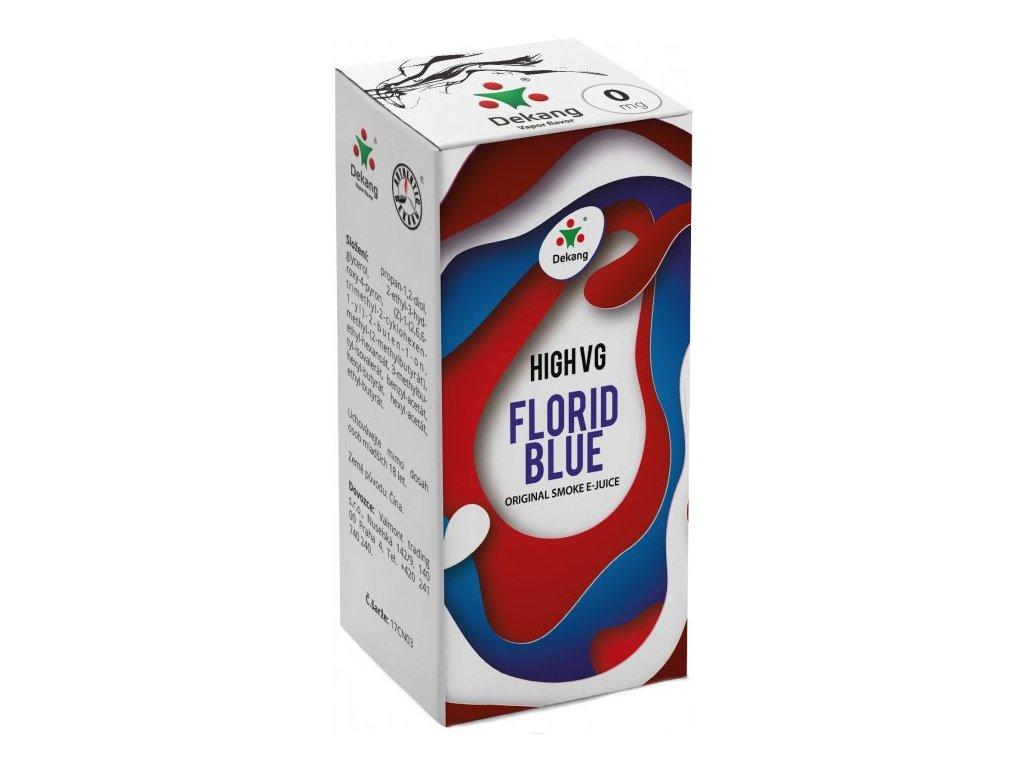 Liquid Dekang High VG Florid Blue 10ml (Ledové borůvky)