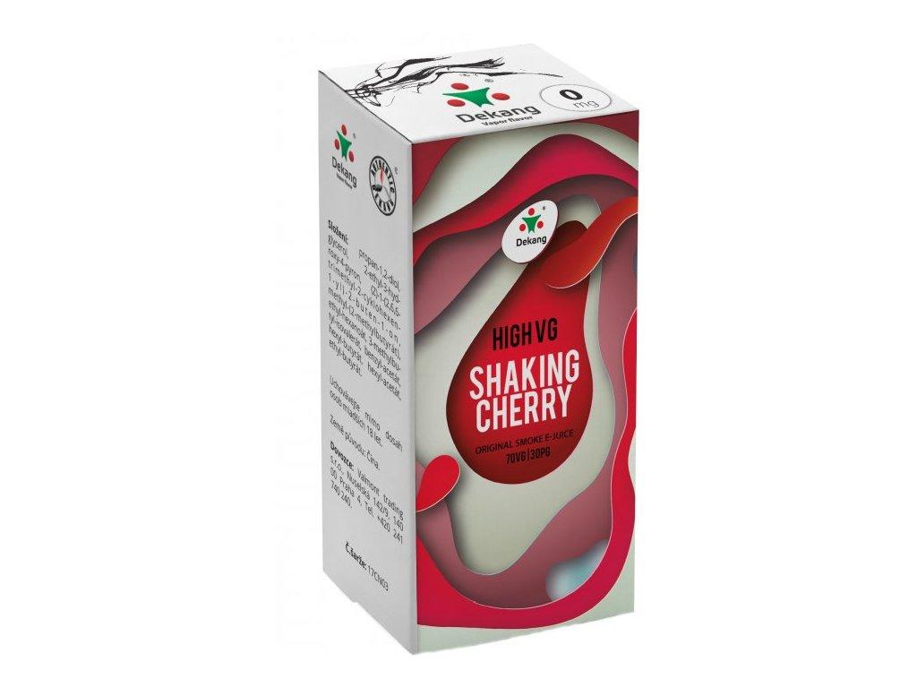Liquid Dekang High VG Shaking Cherry 10ml (Koktejlová třešeň)
