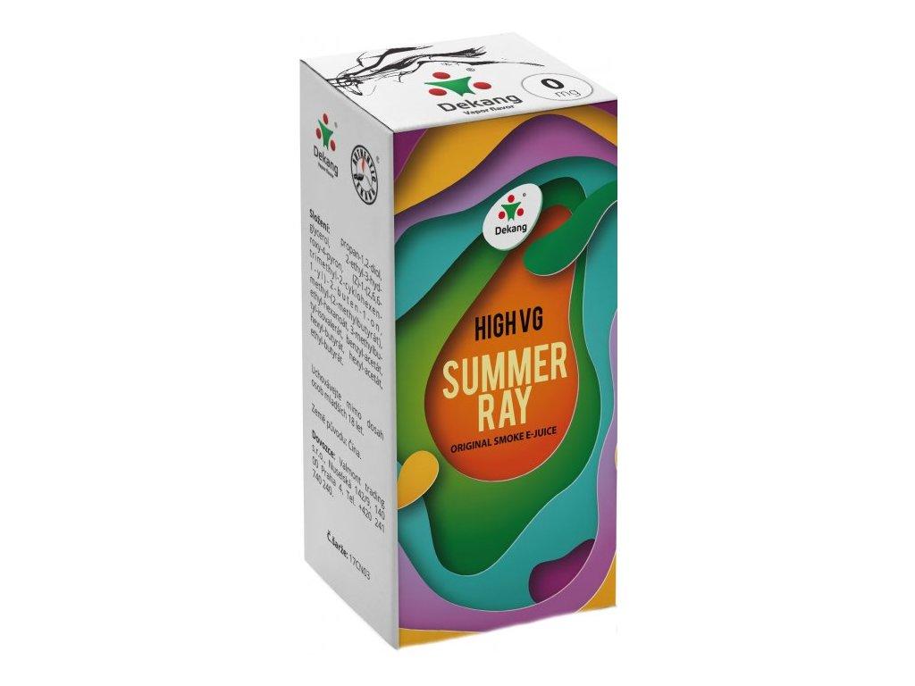 Liquid Dekang High VG Summer Ray 10ml (Ovocná směs)