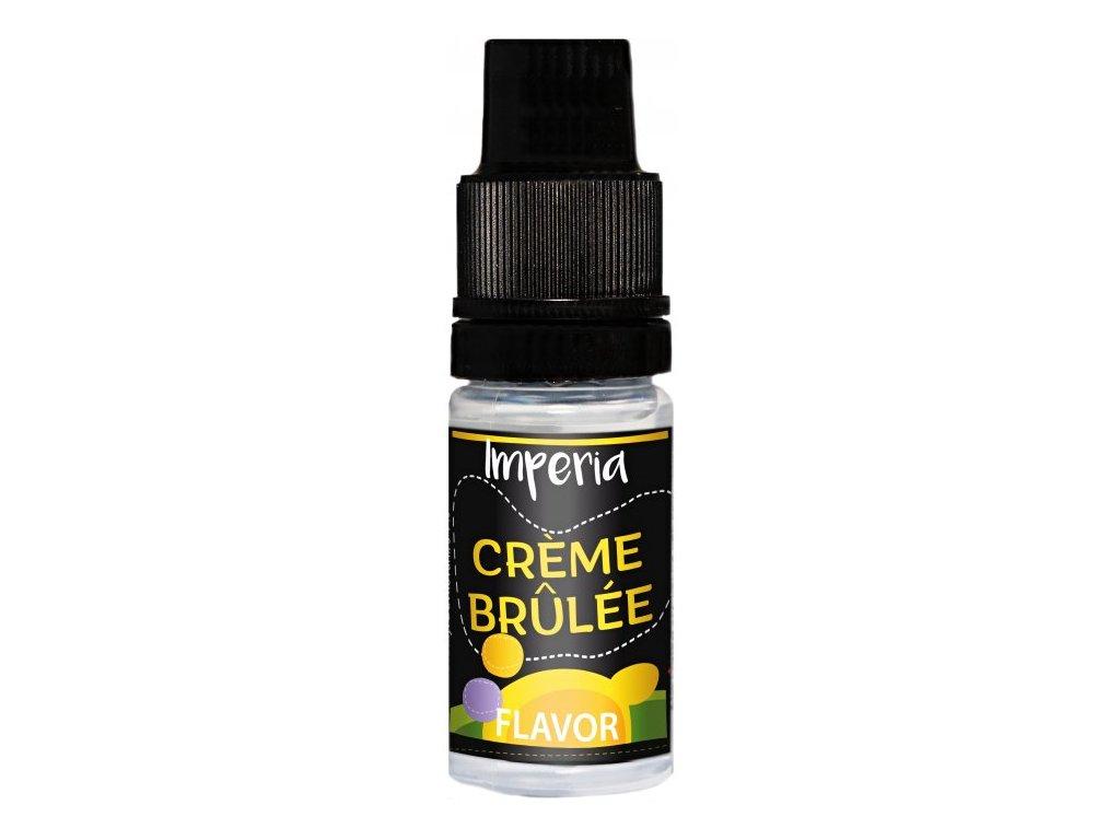 Příchuť IMPERIA Black Label 10ml Creme Brulee (Lahodný dezert)