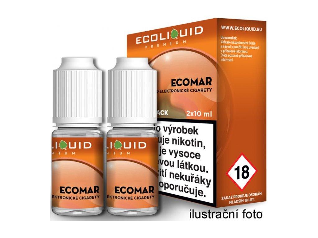 Liquid Ecoliquid Premium 2Pack ECOMAR 2x10ml