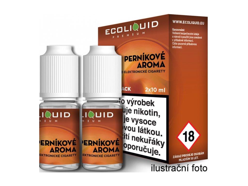 Liquid Ecoliquid Premium 2Pack Gingerbread tobacco 2x10ml (Perníkový tabák)