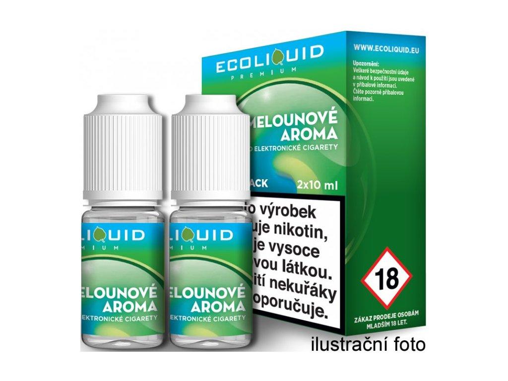Liquid Ecoliquid Premium 2Pack ICE Melon 2x10ml (Svěží meloun)