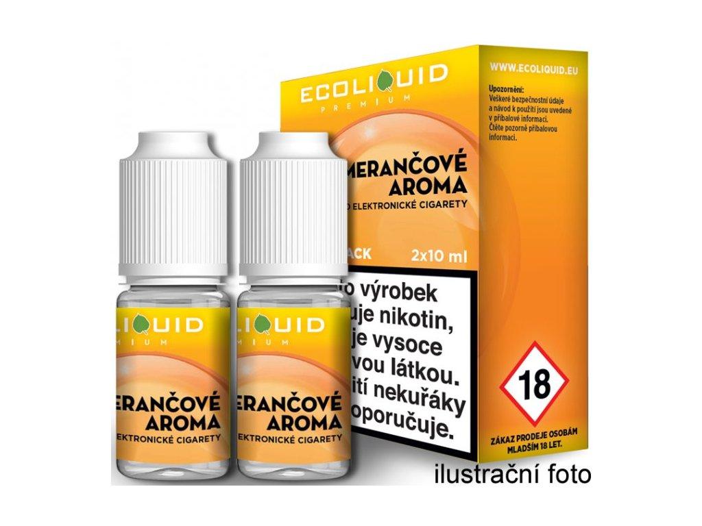 Liquid Ecoliquid Premium 2Pack Orange 2x10ml (Pomeranč)