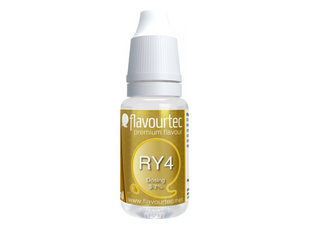 Příchuť Flavourtec Ry4 10ml (Tabák, karamel a vanilka)