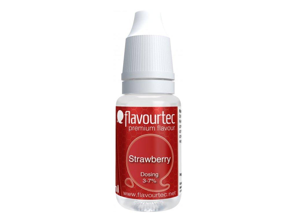 Příchuť Flavourtec Strawberry 10ml (Jahoda)
