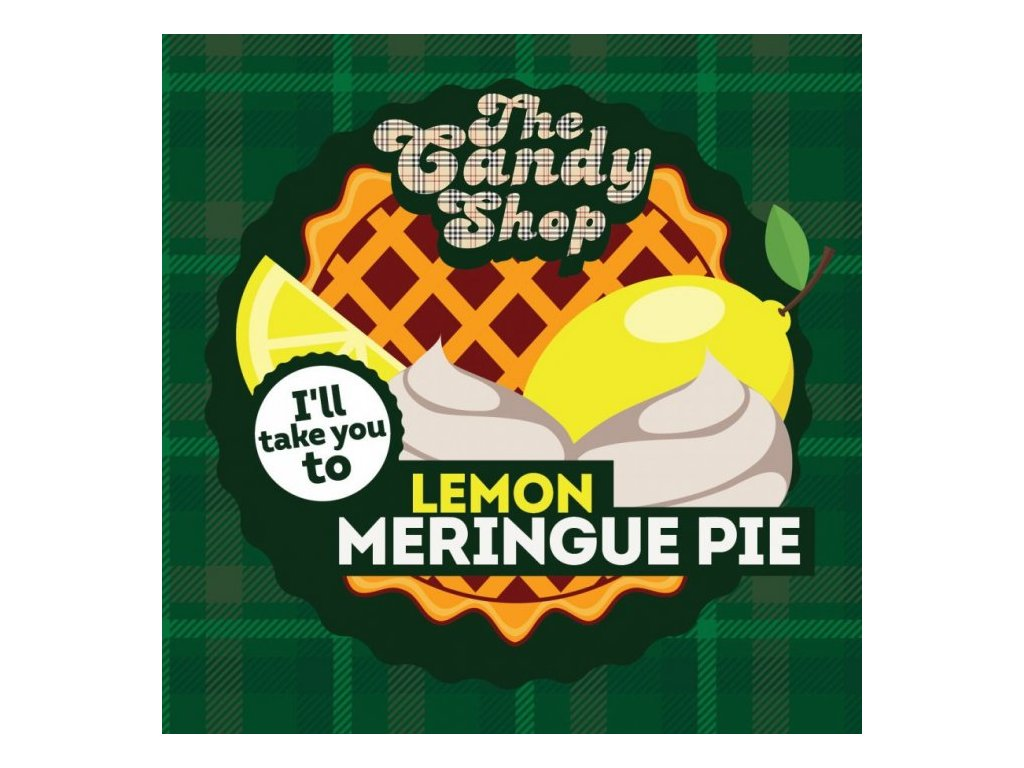 Big Mouth CANDY - Lemon Meringue Pie 10ml