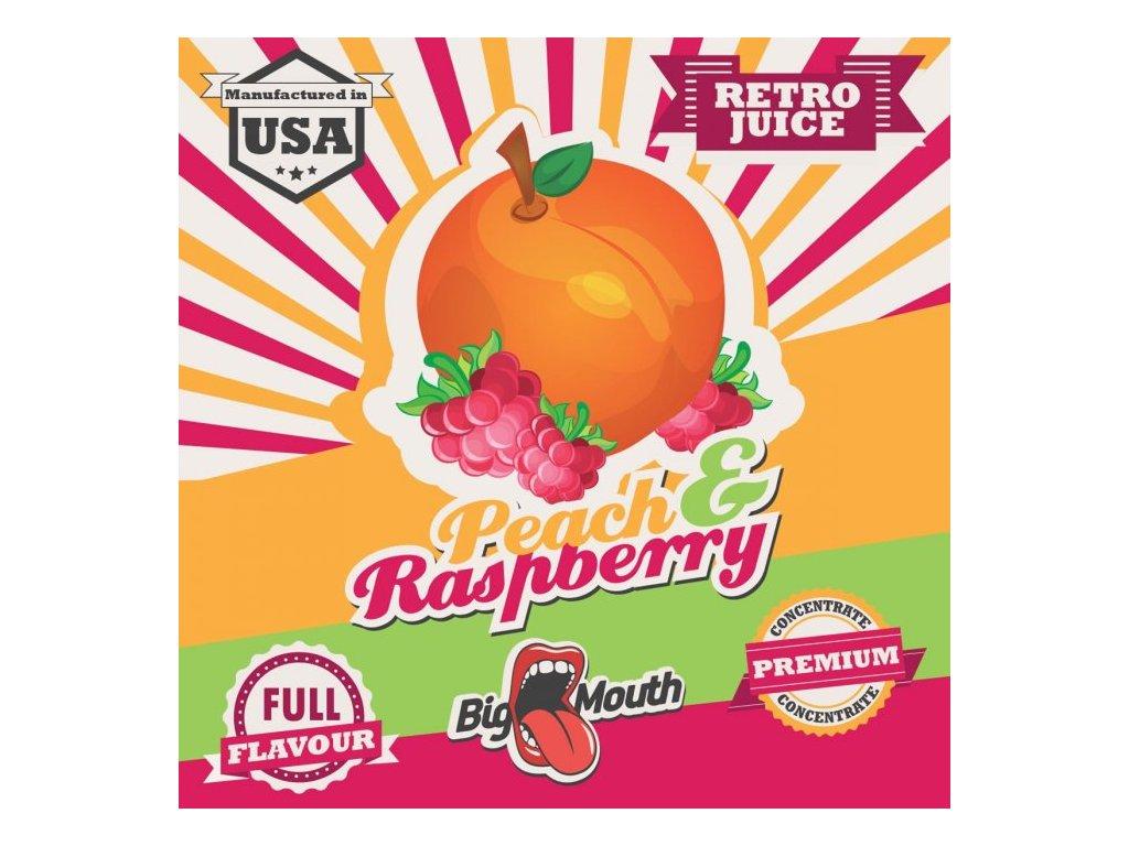 Big Mouth RETRO - Peach and Raspberry 10ml