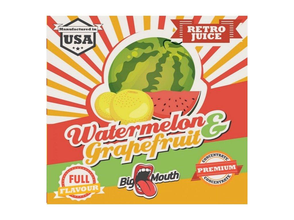 Big Mouth RETRO - Watermelon and grapefruit 10ml