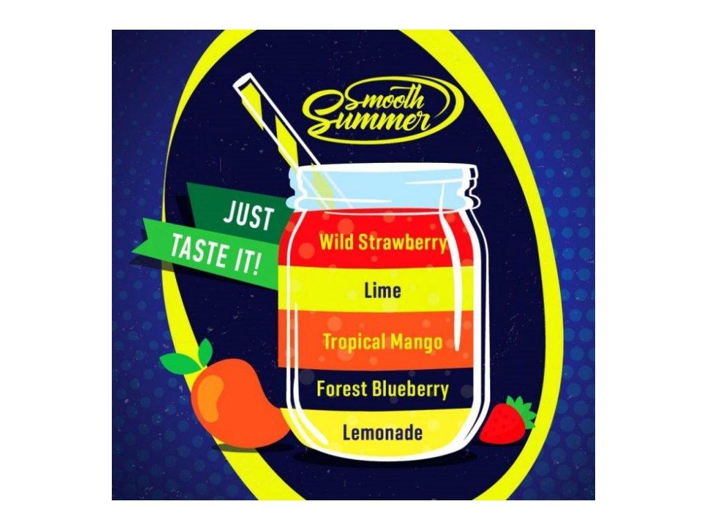 Big Mouth Smooth Summer - Mix Fruit 1 10ml