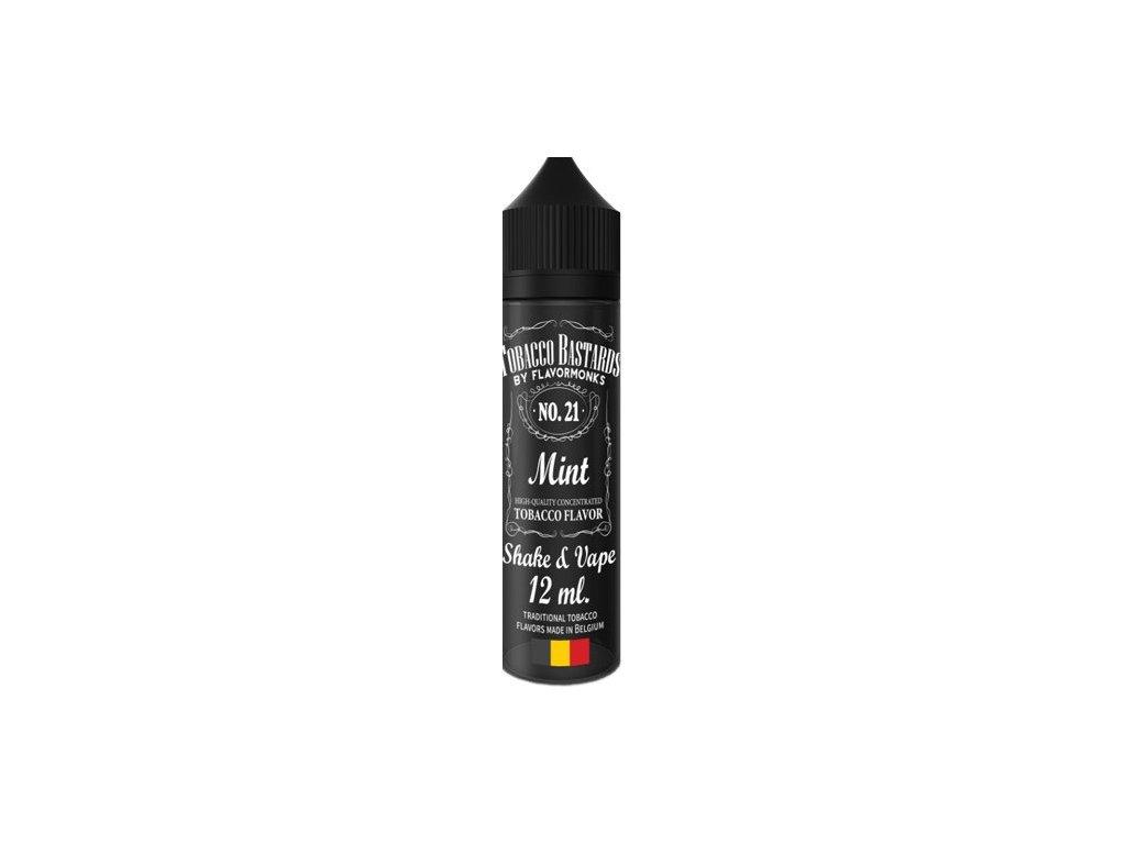 Příchuť Flavormonks Tobacco Bastards Shake and Vape 12ml No.21 Mint
