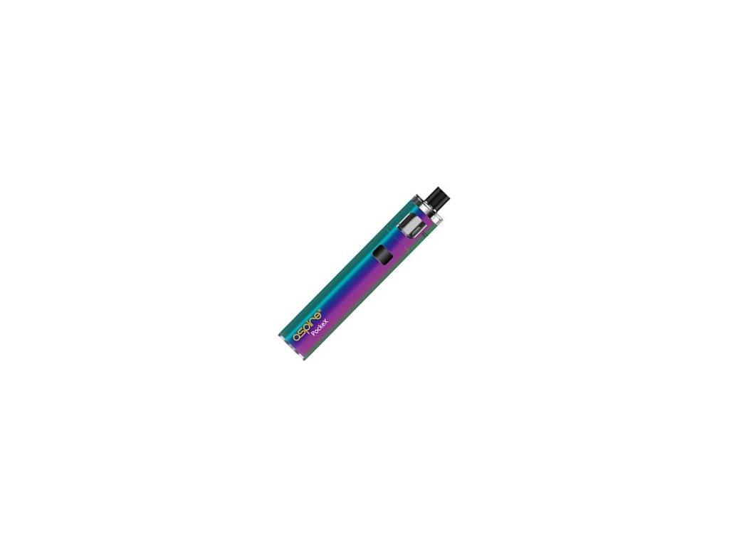aSpire PockeX AIO elektronická cigareta 1500mAh Rainbow