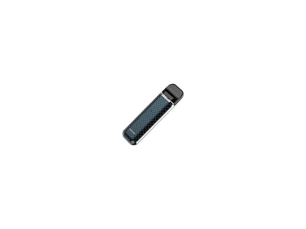 19435 smoktech novo elektronicka cigareta 450mah prism chrome and blue cobra