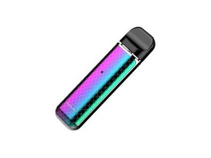 27939 smoktech novo elektronicka cigareta 450mah prism chrome and rainbow cobra
