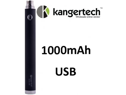 Kangertech EVOD baterie s USB 1000mAh Black