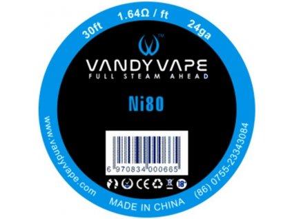 18965 1 vandy vape ni80 odporovy drat 24ga 10m