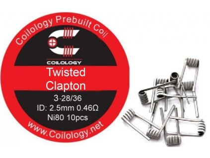 28806 coilology twisted clapton predmotane spiralky ni80 0 46ohm 10ks