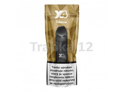 X4 Tabák - jednorázová e-cigareta