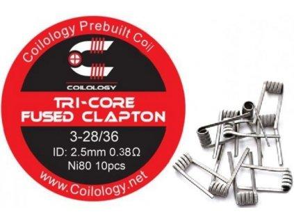 29679 coilology tri core fused clapton predmotane spiralky ni80 0 38ohm