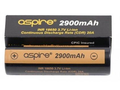 30755 aspire baterie typ 18650 2900mah 20a