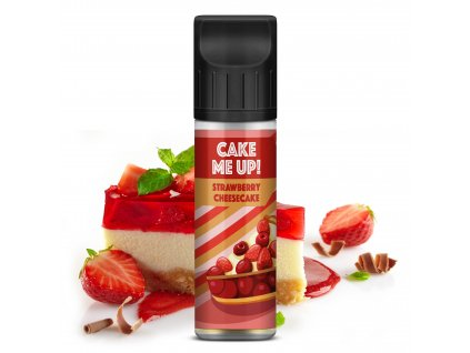 Cake Me Up - Strawberry Cheesecake (Shake and Vape) 20ml