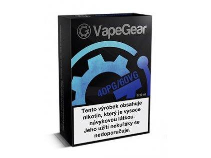 VapeGear nikotinový booster 20mg 5x10ml PG40/VG60