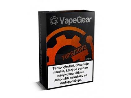 VapeGear nikotinový booster PG70/VG30 20mg 5x10ml