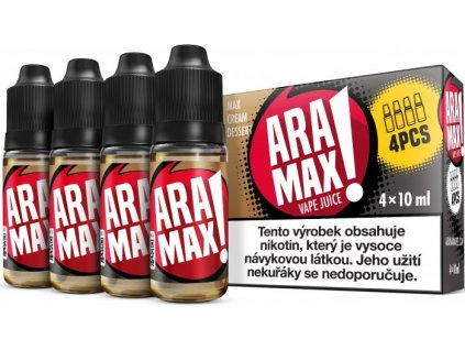 liquid aramax 4pack max cream dessert 4x10ml12mg.png