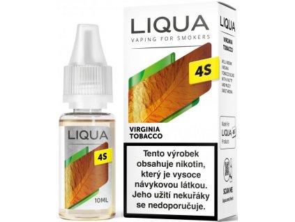 Liquid LIQUA CZ 4S Virginia Tobacco 10ml-20mg