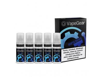Nikotinová prémiová báze VapeGear - 40PG/60VG - 5x10ml 12mg