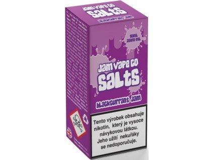 Liquid Juice Sauz SALT The Jam Vape Co Blackcurrant Jam 10ml